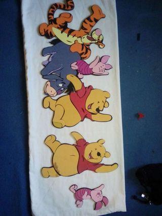 Decorativos winnie de pooh.
