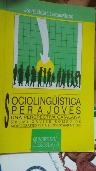 Sociolingüística per a joves