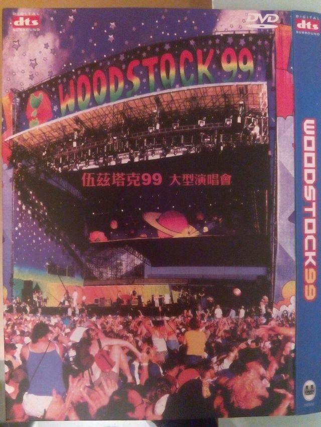 Dvd Woodstock 99 de segunda mano por 6 € en Barcelona en