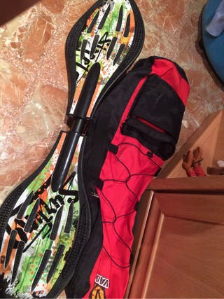 Waveboard The Wave + Mochila De Transporte