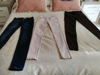 Pantalones vaqueros varios