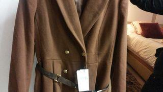 Abrigo marrón talla 42 comprado del corte inglés