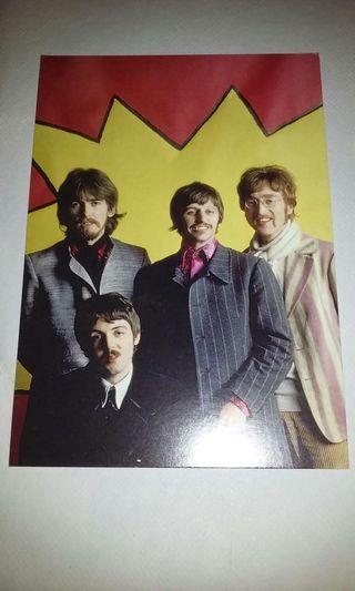 2 postales The beatles