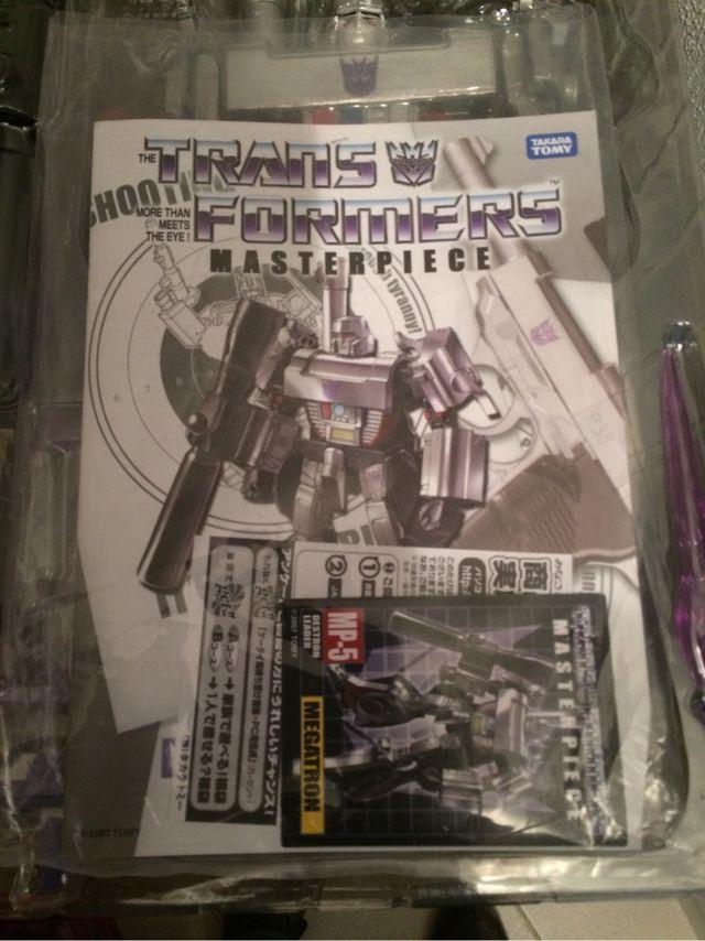 Transformers Megatron Masterpiece