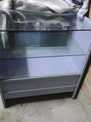 Vendo mueble mostrador de 3 módulos