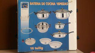 Batería de cocina SOLINGEN 16 piezas