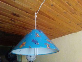 Lampara techo winnie de pooh