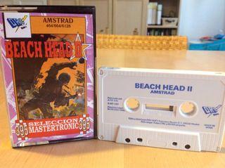 BEACH HEAD II Amstrad Cinta