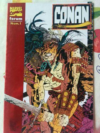 Cómic Conan Ed. 1996