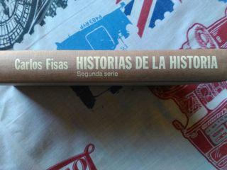 """Libro """"Historias de la historia"""""""