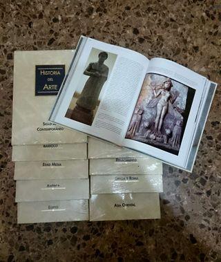 Libros 10 tomos Historia del Arte