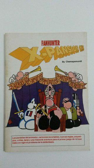 Juego de Rol Fanhunter - X-Pansion Kit