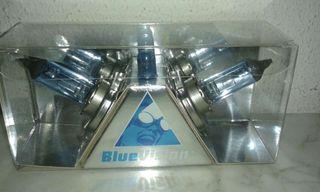 Juego de lamparas H4 Phillips blue vision nuevas