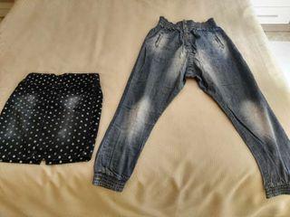 Faldas y pantalones,