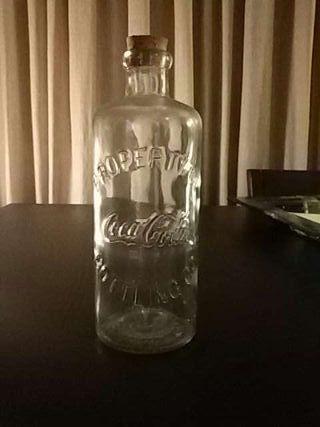 Botella cocacola 1 litro original
