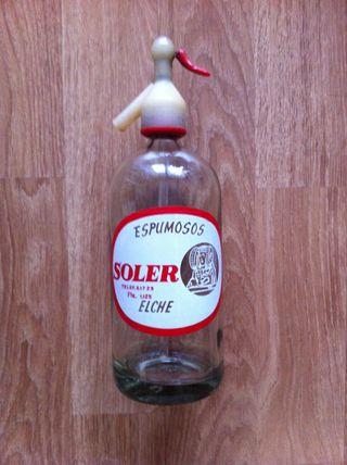 Botella de sifon de Elche