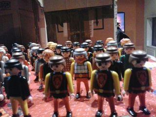 Playmobil. La unidad de playmobil medieval