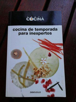 Libro de cocina para inexpertos