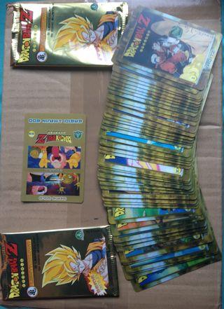 Cards Dragon Ball Z Lenticolari