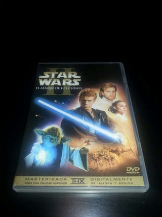 DVD Star Wars episodio II
