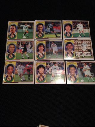 Cromos Futbol Liga 96~97 Real Madrid