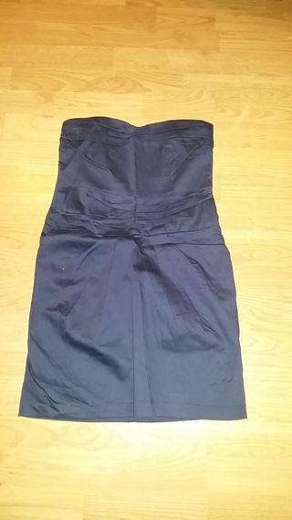 5a28b256b Vestido estilo navy de segunda mano en WALLAPOP