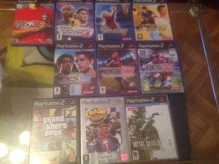 Juegos de PS2 Playstation 2