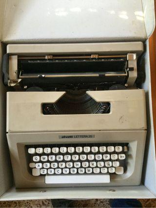 Olivetti_máquina De Escribir