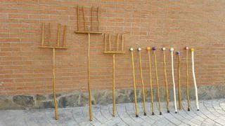 Bastones y garrotas artesanales