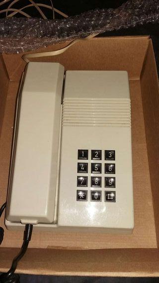Telefono con cable antiguo