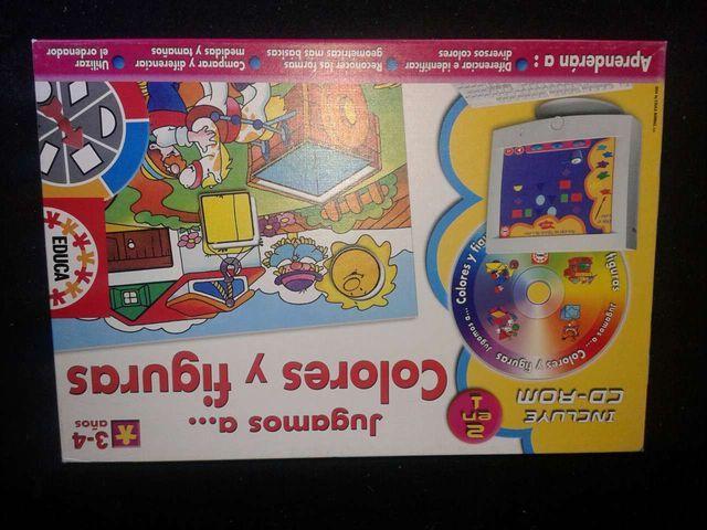 Juegos Educativos Educa Colores Para 3 O 4 Anos De Segunda Mano Por
