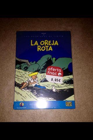 Pelicula DVD Tintín - La Oreja Rota