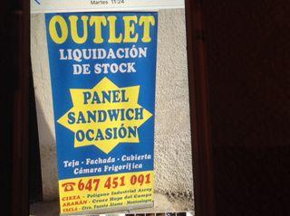 Panel Sandwich Ocasion Desde 8.98€ M2