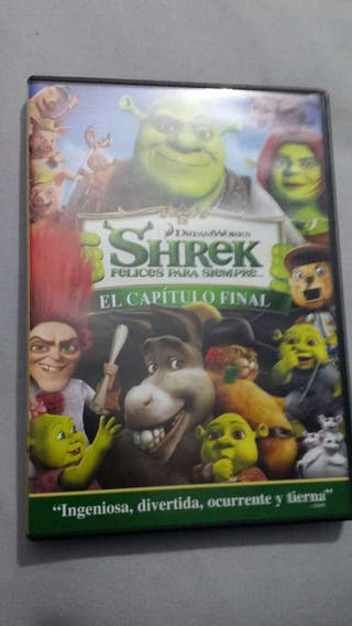 Sherk felices para siempre Dvd