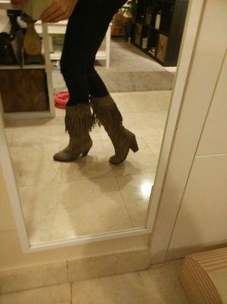 botas de piel nuevas