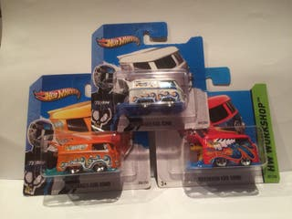 Lote de coches Hot Wheels Volkswagen Kool Kombi