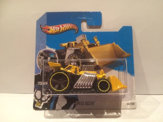 Coche Hot Wheels Speed Dozer