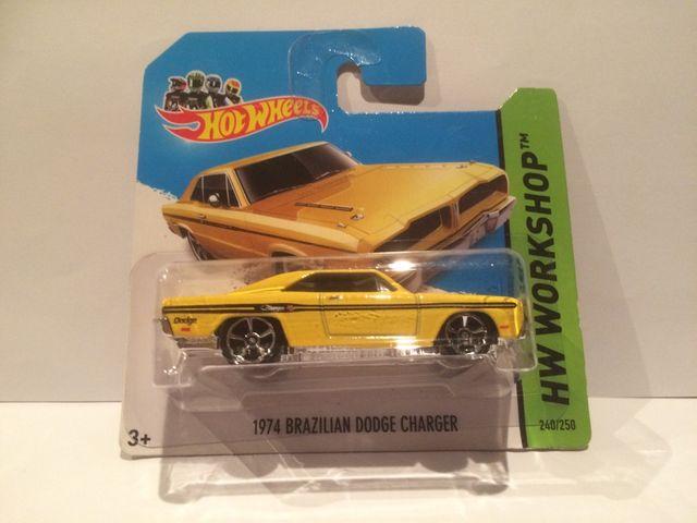 Coche Hot Wheels 1974 Brazilian Dodge Charger