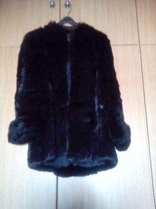 Abrigo de piel Chinchilla de segunda mano en WALLAPOP c48db09e43c