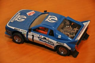 Coche Scalextric Exin Lancia Rally Pioneer