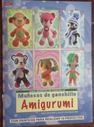 Libro: Como hacer AMIGURUMIS, muñecos de ganchillo Japoneses