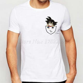 Camiseta Dragon ball talla m son goku
