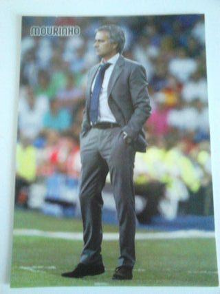 Postal Mourinho Real Madrid
