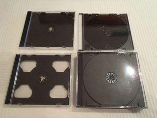 Cajas jewel case para CDs, DVDs, Blu-Rays, ...