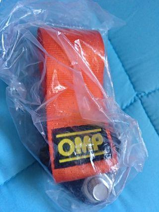 cintas remolque OMP y SPARCO