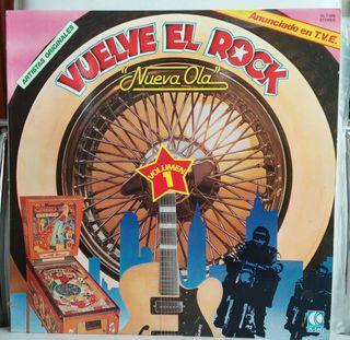 Disco de Vinilo Vuelve el Rock