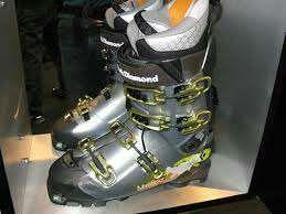 Botes esqui. Alpi freeride muntanya