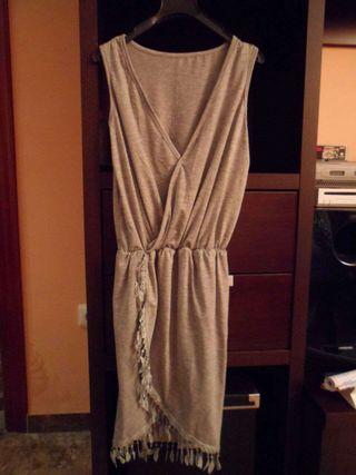Vestido gris talla 36-38
