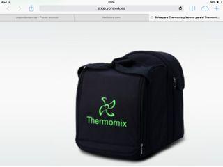 Bolsa Transporte Thermomix TM31 y libro de regalo.