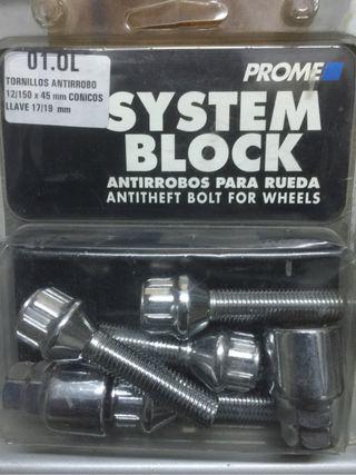 Tornillos Antirobo Nuevo
